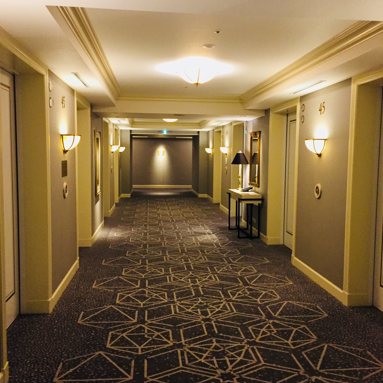 名古屋マリオットアソシアのエレベーターホール