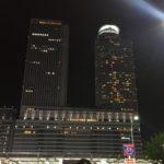 名古屋駅に隣接するマリオットホテルの外観